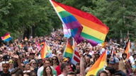 LGBTQ participants march in downtown to recognize the rich culture of Washington, Saturday, June 12, 2021, in Washington. (AP…