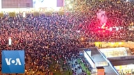 Drone Video Shows Massive Demonstration in Poland Against Abortion Law