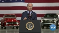 Biden Pushes for US to Beat China in Electric Vehicle Race