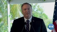 Pompeo Calls China 'Predator' as He Tours South Asia