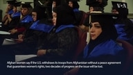Afghan Women Concerned over US Pullout Without Peace Agreement