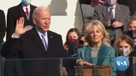 Former Vice President Joe Biden Sworn in as America's 46th President