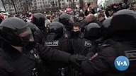 In Russia, Hundreds Behind Bars Following Pro-Navalny Protests