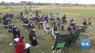 Outdoor Classes in Kashmir Combat COVID Contagion