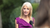 White House adviser Kellyanne Conway speaks to reporters at the White House in Washington