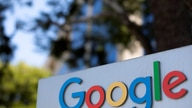 FILE PHOTO: A Google sign is shown at one of the company's office complexes in Irvine