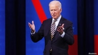 U.S. President Joe Biden participates in a CNN town hall in Milwaukee