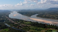 FILE PHOTO: A view of the Mekong river bordering Thailand and Laos is seen from the Thai side in Nong Khai
