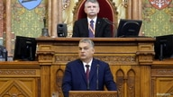 Hungarian Prime Minister Orban addresses Parliament in Budapest