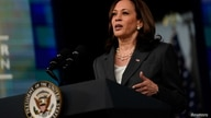 Vice President Kamala Harris delivers virtual remarks to the National Bar Association at the White House in Washington