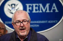 FILE – Then-Federal Emergency Management Agency Administra
