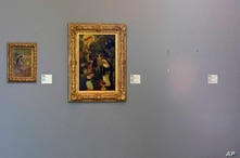 The empty space where Henri Matisse' painting