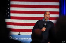 FILE -  Sen. Cory Booker, D-N.J., speaks at a post-midterm election victory celebration in Manchester, N.H.
