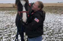 Former horse trainer assistant Kayla Lanning had to drive 85 miles (136 km) to deliver twins last year. They are now being treated by a specialist at yet another hospital, 76 miles (122 km) away, Nov. 10, 2018.