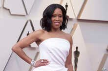 Regina King arrives at the Oscars on Sunday, Feb. 24, 2019, at the Dolby Theatre in Los Angeles.