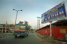 Hindu nationalist groups put up this billboard in north Indian city of Jammu last year threatening the local Rohingya refugees to leave the region.