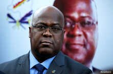FILE - Felix Tshisekedi, leader of Congolese main opposition the Union for Democracy and Social Progress (UDPS) party, attends a news conference in Nairobi, Kenya, Nov. 23, 2018.