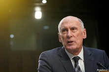 "Director of National Intelligence Dan Coats testifies to the Senate Intelligence Committee hearing about ""worldwide threats"" on Capitol Hill in Washington, U.S., Jan. 29, 2019."