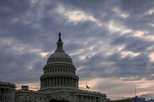 The Capitol is seen in Washington, Dec. 14, 2018, after Congress adjourned until next week. Congress is racing to avoid a partial government shutdown over President Donald Trump's border wall.