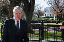 FILE - Special Counsel Robert Mueller in Washington.
