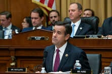 In a July 24, 2019 photo, Rep. John Ratcliffe, R-Texas, a member of the House Intelligence Committee, questions Robert Mueller.