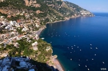 The Amalfi Coast seen from above (Sabina Castelfranco/VOA)