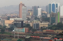 A general view shows the capital city of Kampala in Uganda, July 4, 2016. REUTERS/James Akena