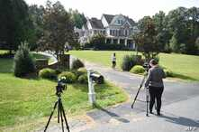 Photo shot September 10, 2019 shows the house in Stafford, Virginia, of alleged spy, Oleg Smolenkov. American media reported that US agents extracted in 2017 a high-level mole in the Russian government who had confirmed Vladimir Putin's direct role…