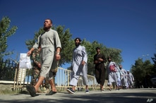 Afghan Taliban prisoners are released from Bagram Prison in Parwan province, Afghanistan, Tuesday, May 26, 2020.The Afghan…