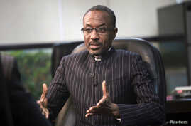 Nigeria's Central Bank Governor Sanusi Lamido Sanusi during an interview in his office, Lagos, March 7, 2011 file photo.