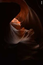 Upper Antelope Canyon is called 'the place where water runs through rocks' in the Navajo language.