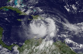 Tropical Storm Issac in the Caribbean (Photo: NOAA)