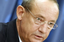 Yvo de Boer, Executive Secretary of the United Nations Framework Convention on Climate Change (UNFCCC) (file photo)
