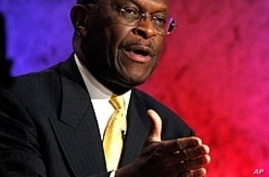 Cain Surges to Lead in US Republican Presidential Race