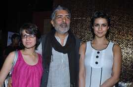 """FILE - Bollywood director Alankrita Shrivastava, pictured in Mumbai in January 2011, says viewers were drawn to her """"Lipstick Under My Burqa"""" as """"an honest story about them."""""""