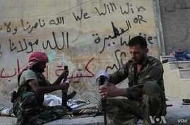 Syrian Rebels Bogged Down in Aleppo