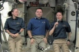 Astronauts Describe Life on Space Station