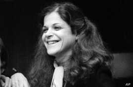"""FILE - Comedian Gilda Radner appears on the set of """"Saturday Night Live"""" in New York. Dec. 1, 1977. A documentary about Radner will kick off the 17th Tribeca Film Festival, which is set for April 18-29 in New York."""