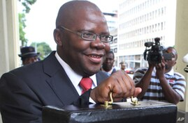 Zimbabwe's Biti Sees Problems Paying for Elections