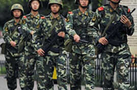 Western China Security Tightened on Riot Anniversary