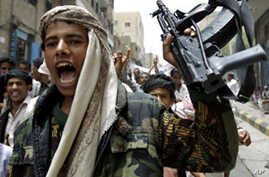 Yemeni Forces Fire on Protesters