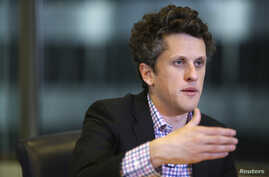 FILE - Aaron Levie, co-founder and chief executive of Box, speaks during Reuters Global Technology Summit in San Francisco, June 19, 2013.