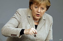 German Leader Says No Simple, Quick Fix for Euro Crisis