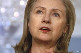 Clinton: Libyan Bloodshed 'Completely Unacceptable'