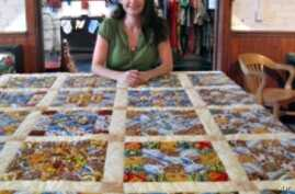Crafter Autumn Wiggins is launching a Website that makes it possible for multiple artists to work from a single design.