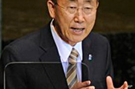UN Secretary-General Urges Intensive Middle East Talks