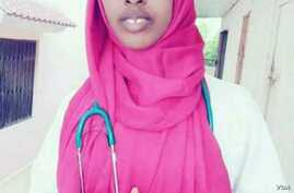 Maryama Abdullahi was in six years in medical school when she was killed on Oct. 14 in a blast in Mogadishu that claimed more than 300 lives. (Twitter/Hussein Mohamed)