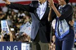 Obamas Rally Voters Before Key Elections