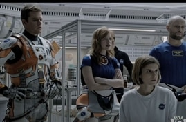 """A scene from """"The Martian."""""""