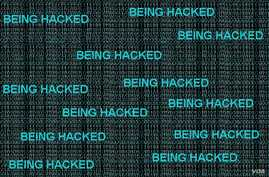 A simple graphic of a possible website attack.